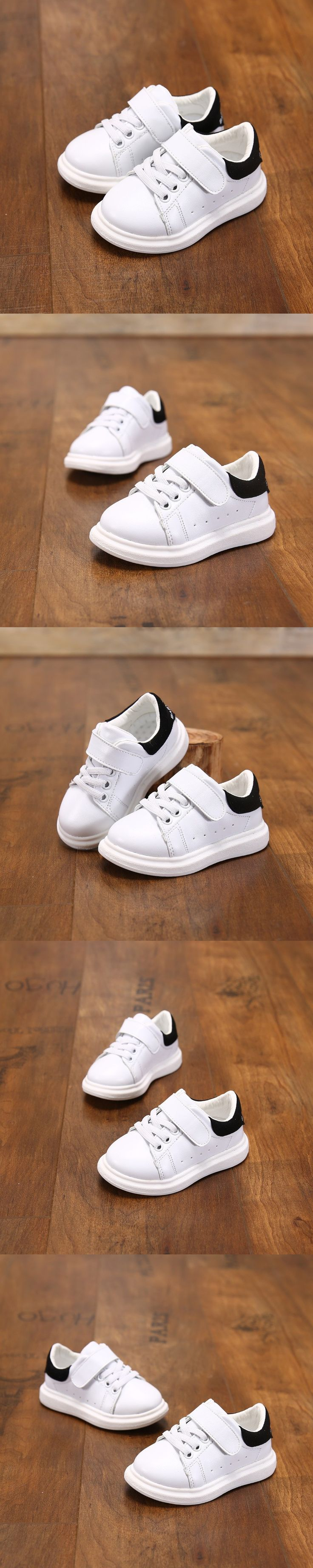 2016 Fashion Casual Baby Shoes Lace Up Hollow White Summer Girls Sneakers Kids Breathable Children Shoes Chaussure Enfant Garcon
