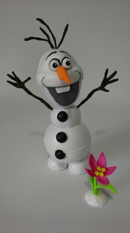 Fofucho Olaf Olaf el muñeco de nieve que tiene vida podemos observar que es muy divertido gracioso