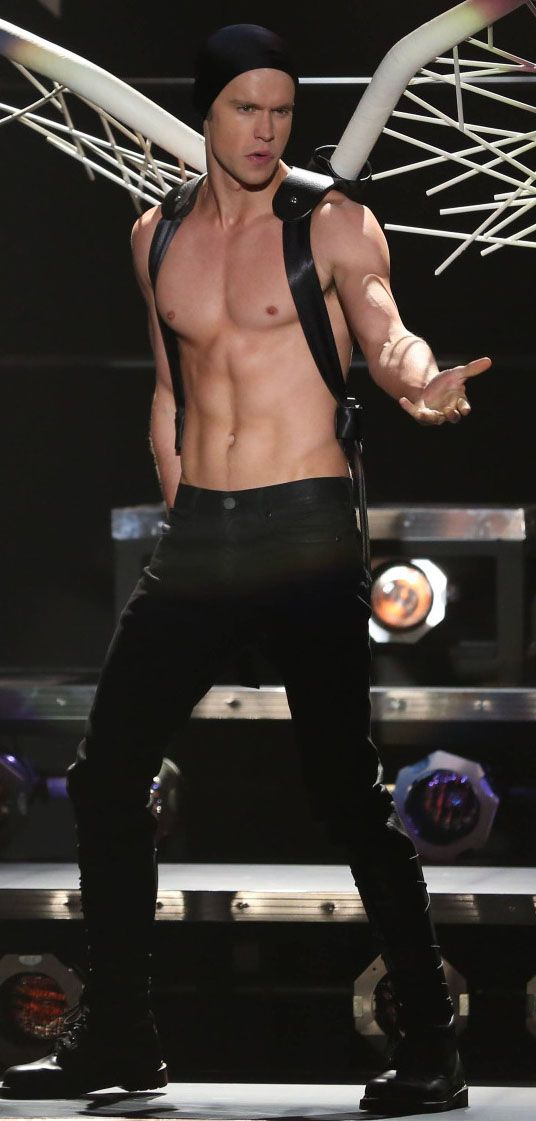 Glee's Chord Overstreet/I Cannot Handle This