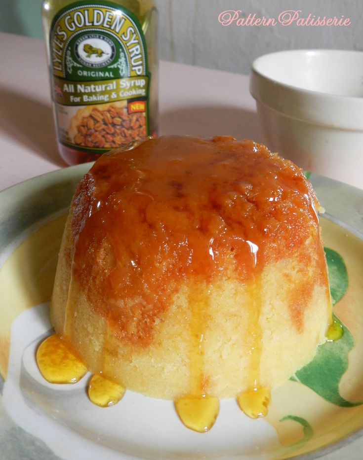 patternpatisserie: Steamed Treacle Pudding - which has no treacle in it!