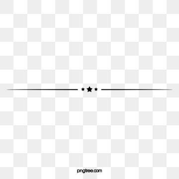 Star Horizontal Line Decoration Elements Star Line Horizontal Line Png Transparent Clipart Image And Psd File For Free Download Decorative Lines Divider Clipart Text Dividers