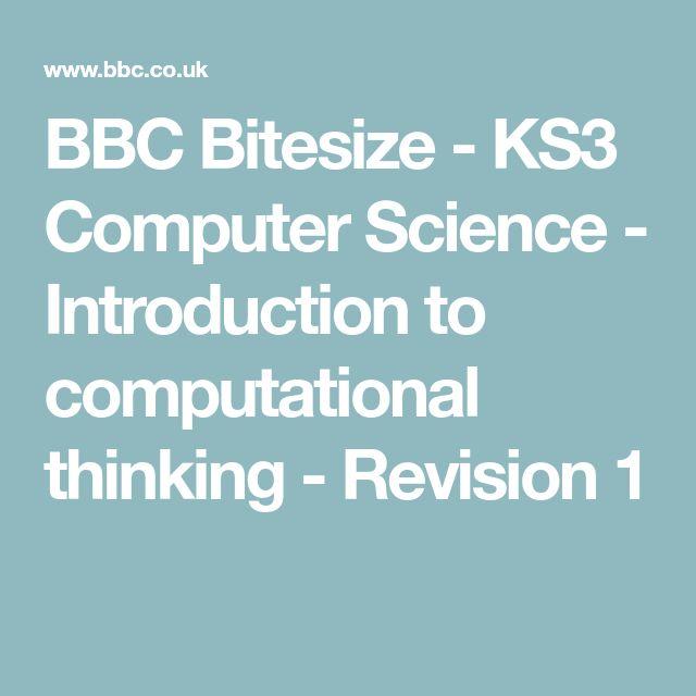 Bbc bitesize ks3 science periodic table bbc bitesize ks3 computer science introduction to computational thinking revision 1 urtaz Images