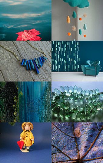 Love the rain by alina on Etsy--Pinned with TreasuryPin.com