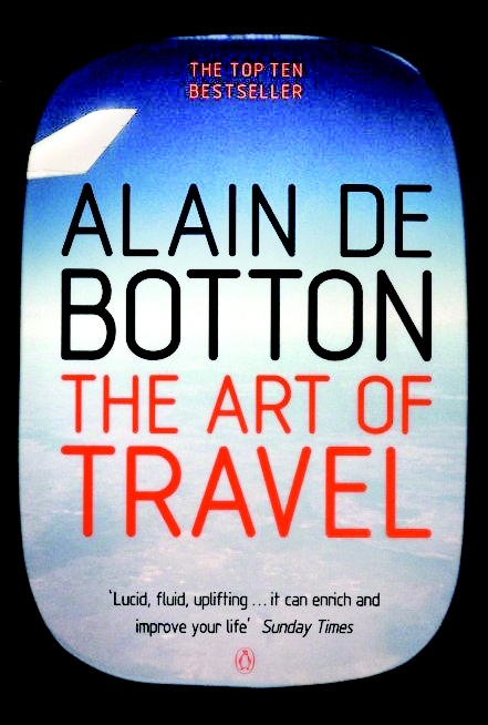 The Art of Travel Book :Written by Swiss writer, modern day philosopher and entrepreneur Alain de Botton; this book is a philosophical look at the activity of traveling for pleasure. Focusing on thoughts on airports, landscapes, museums, holiday romances, photographs and the contents of hotel mini-bars, it provides something a typical guidebook cannot.