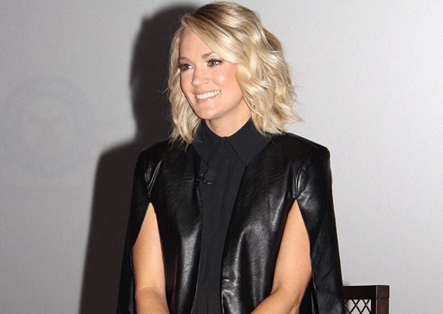 @carrieunderwood in NY helping send off the new Carnival Vista ship! #carnivalcruise
