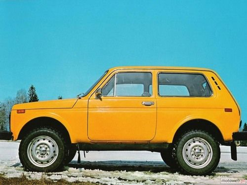 Lada Niva - best car ever!