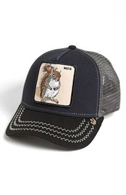 0fd355da GOORIN BROTHERS Designer 'Animal Farm - Squirrel Master' Snapback Trucker  Hat