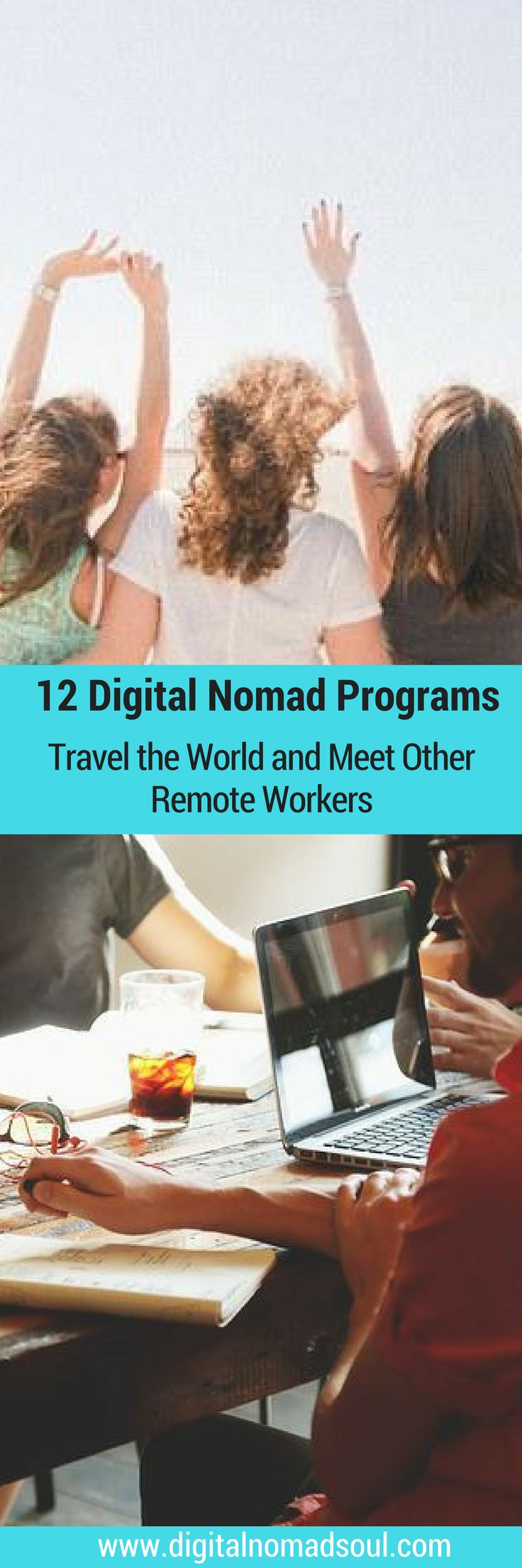 Do you want to travel the world with other like-minded digital nomads? Check out these awesome programs and retreats for location-independent workers!
