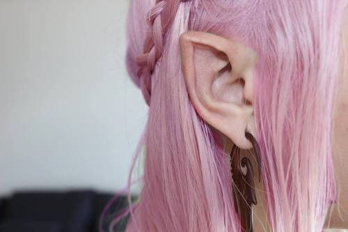 elf ear body mod I have to wonder if enough people started doing this if it would start happening naturally.