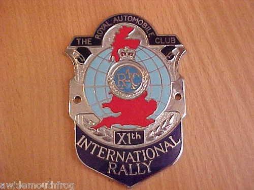Royal Automobile Club 11th International Rally
