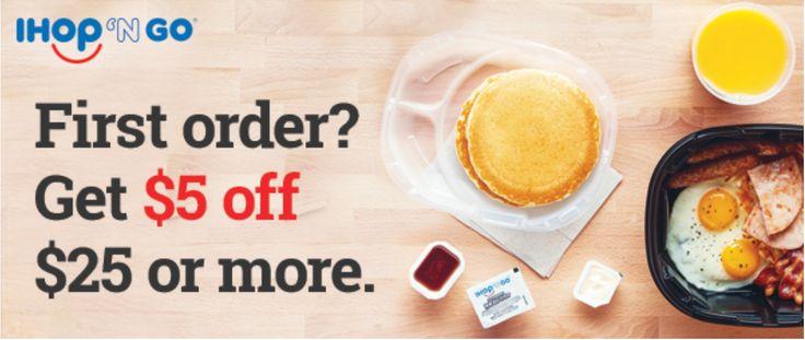 #IHOPNGO New Online order service. Order online and get $5 off your first order of $25 or more with offer code IHOPNGO. #Coupon code expires Sunday 31 December 2017. https://order.ihop.com #ezswag #swagtips #savemoney #makemoney #couponing #frugaltips #moneytips