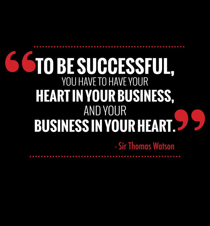 "Success quote: ""To be successful, you have to have your ..."