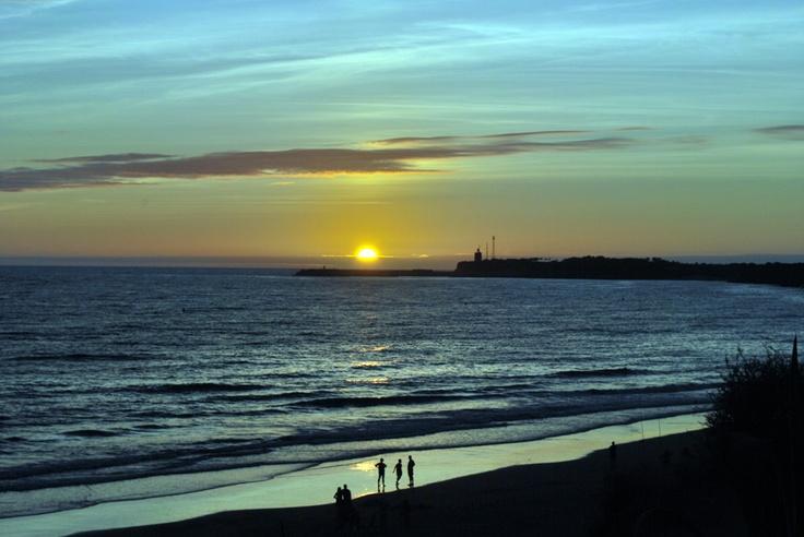 Puesta de Sol playa Conil