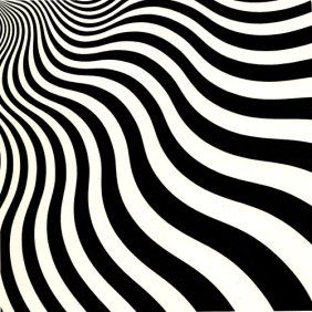 Oakville Luxury Townhomes and Condos: Op Art - brings back the 60's