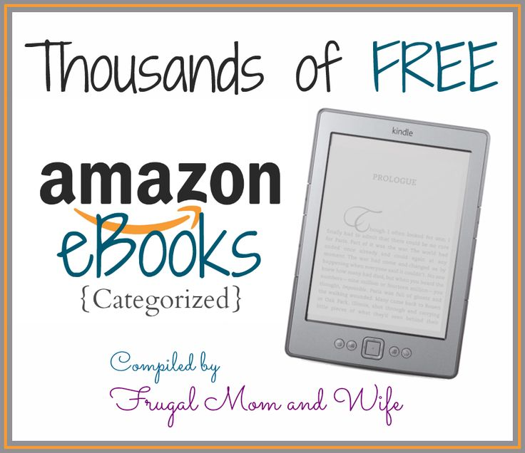 Frugal Mom and Wife: Thousands of FREE eBooks! *Categorized*