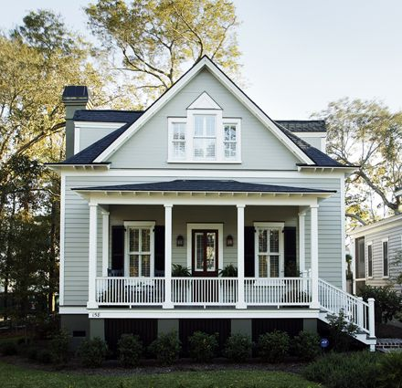 20 best house exterior colors images on pinterest beach Custom cottage homes