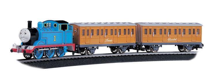 Bachmann #642 HO Standard Gauge Thomas with Annie & Clarabel E-Z Track Set