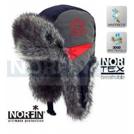 Шапка-ушанка Norfin Extreme 1400р