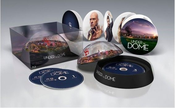 Stephen King's hit summer drama series 'Under the Dome' comes to DVD and Blu-ray on Tuesday, November 5, 2013. Cast: Mike Vogel, Rachelle Lefevre, Dean Norris, Natalie Martinez, Britt Robertson, Alexander Koch, Colin Ford, Nicholas Strong