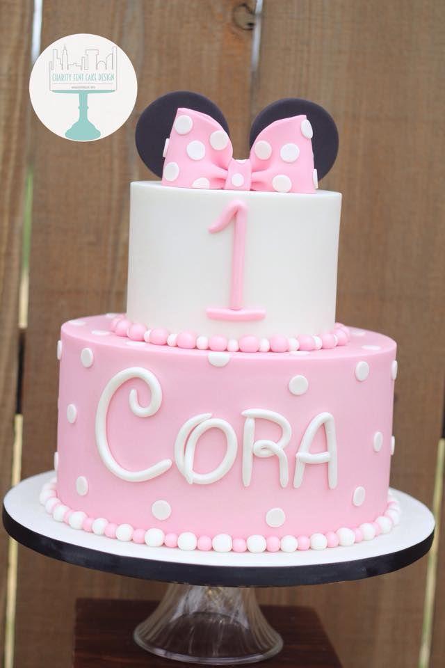 Minnie Mouse Birthday Cake | Charity Fent Cake Design | Fun Unique Birthday Cake | Springfield, Missouri