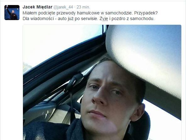 Zamach na życie księdza Jacka Międlara? Ktoś podciął przewody hamulcowe w jego samochodzie!