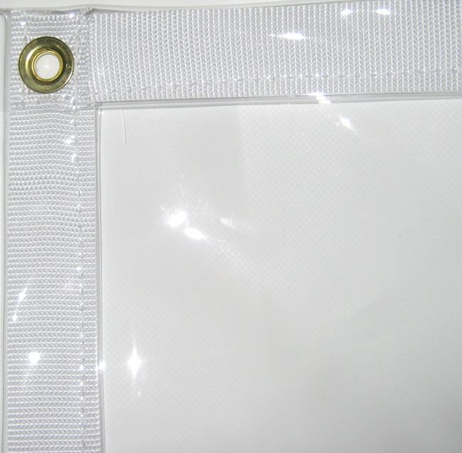 Heavy Duty Clear Tarps 30 Mil Clear Vinyl In 2020 Clear Vinyl Outdoor Curtains Vinyl