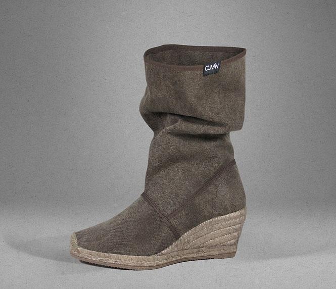 vegan boot by cumin
