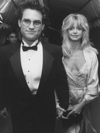 the unconventional hollywood couple~  Kurt Russell & Goldie Hawn
