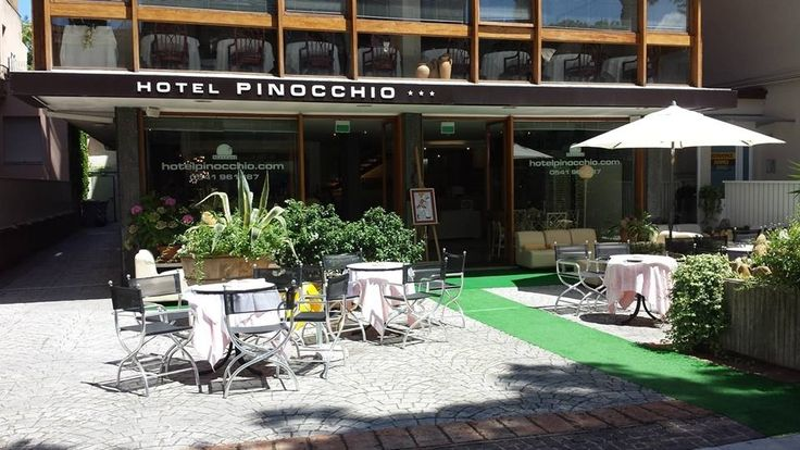The three star Hotel Pinocchio of Cattolica is centrally positioned, close to the sea and has been owned and managed personally by the Battarra family since 1962.