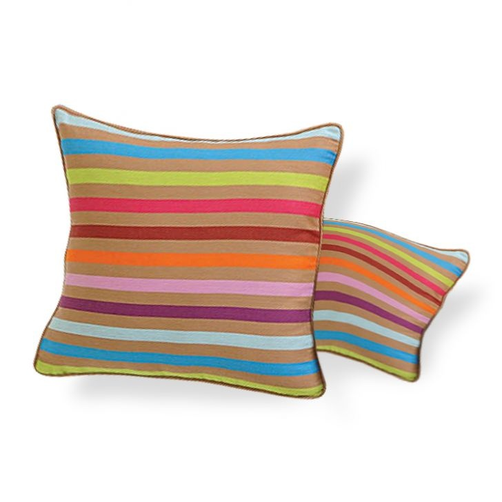 Swayam Cushion Cover Printed Set of Two - FabFurnish.com #DiwaliDecor #FabFurnish