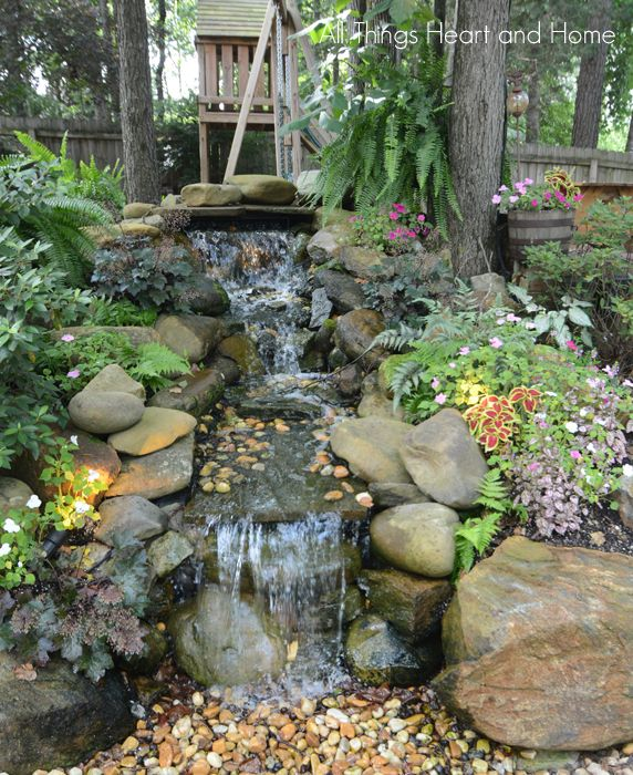 Creating a Back Yard Garden - All Things Heart and Home