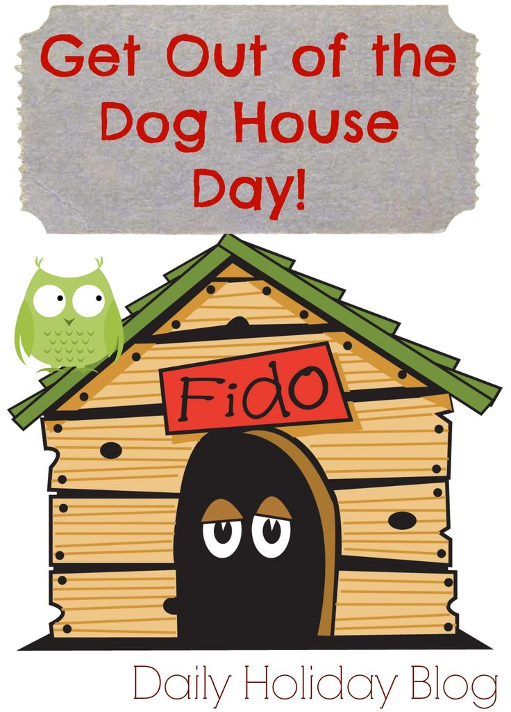 "Today is Get Out of the Dog House Day! Some great ""I'm Sorry"" gifts from Etsy!  Cute site!"