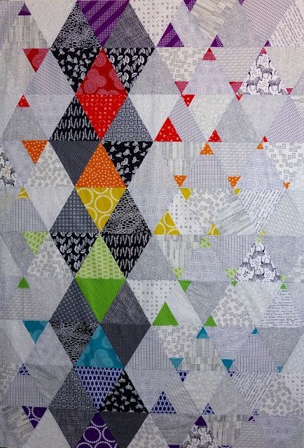 Quilt Matters: TGIFF! - Colour Pop Top