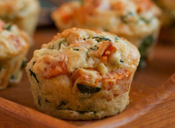 Sweet Potato, Kale and Feta Muffins: Sweet Potato Kale, Muffin Recipes, Sweets, Feta Muffins, Baby Kale, Potatoes, Muffins Recipe