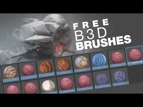 Free Blender Brushes // IK3D - YouTube