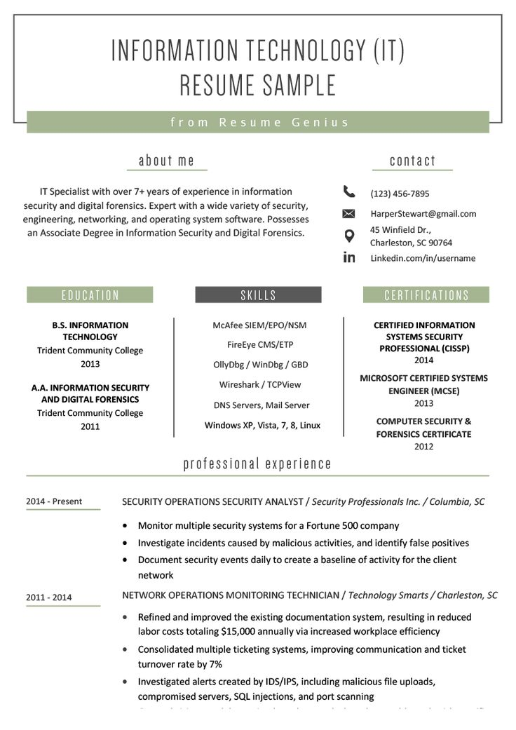 Resume technologies sucks