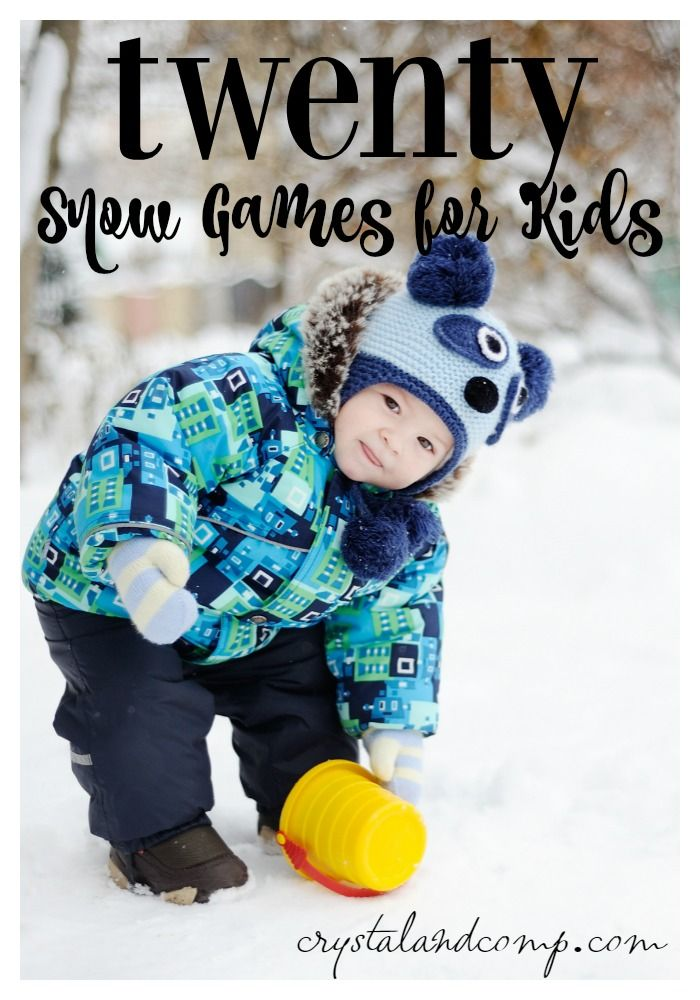 Goodbye cabin fever. Here are 20 super fun games kids can play in the snow! letsplay ad
