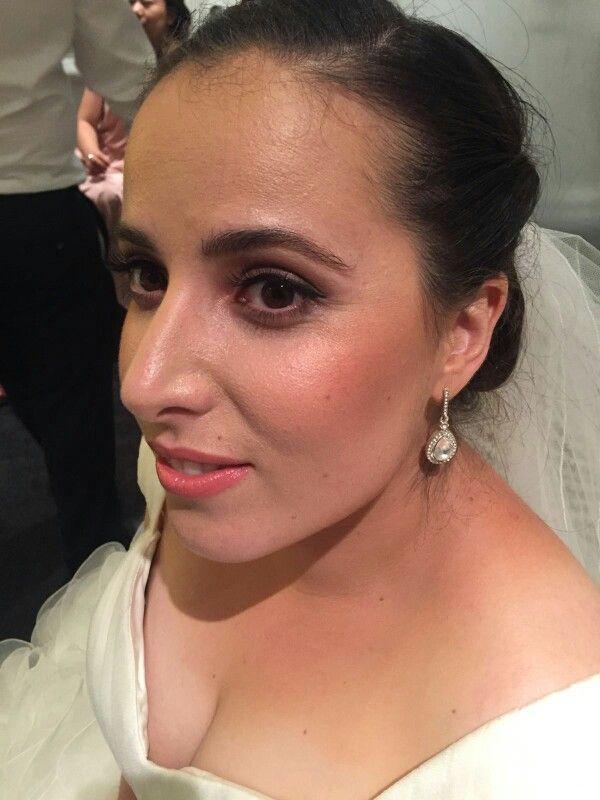 Bridal Makeup On Sara