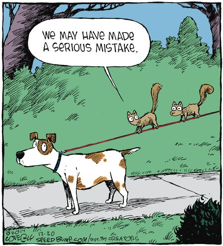 Speed Bump by Dave Coverly for Dec 30, 2017 | Read Comic Strips at GoComics.com