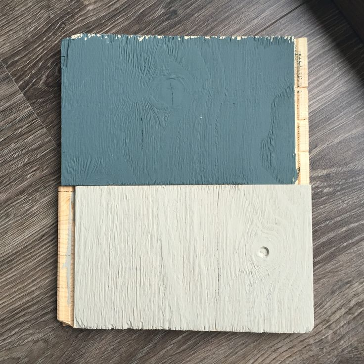 Inchyra Blue #farrowandball together with Hardwick White Testing for a new protect - love it!