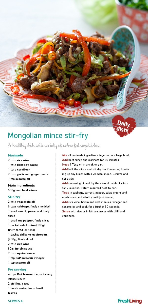Mongolian stir-fry.