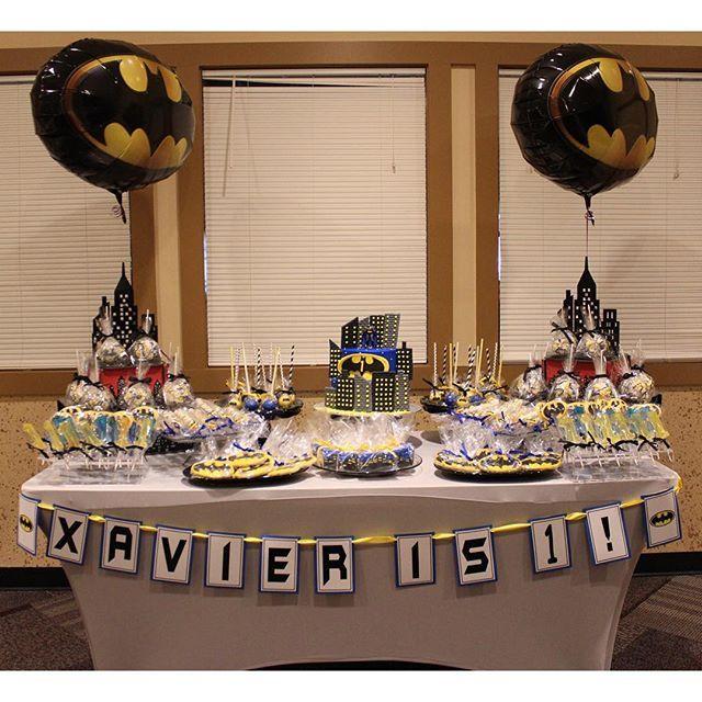 Xaviers Batman Birthday  Creative Birthday Cakes & Goody Bags ...