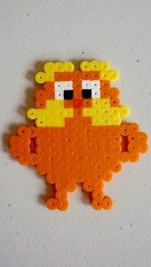 The Lorax perler beads - the lorax birthday theme - lorax hamma beads - lorax melty beads