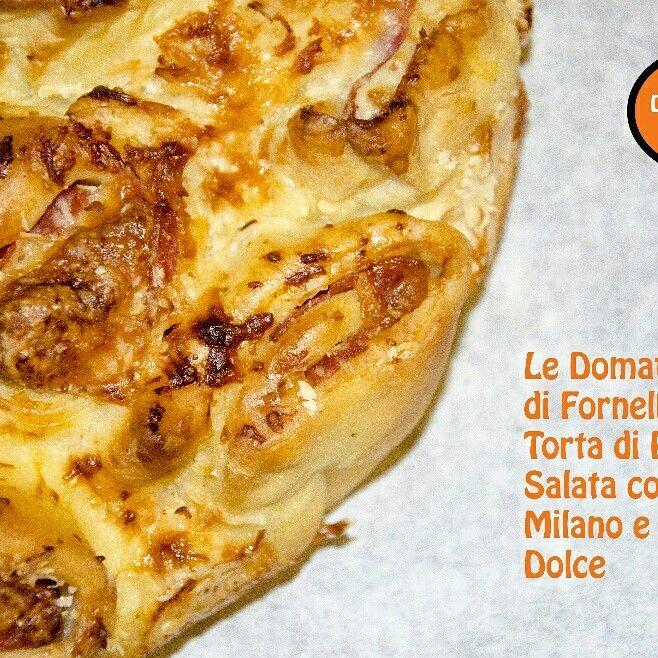 E potevamo non provare anche noi a preparare la motica torta di rose salata che spopola tanto in  internet? Ecco la nostra versione con salame milano e provola dolce! Qui la ricetta http://blog.giallozafferano.it/ledomatrici/torta-di-rose-salata-con-salame-provola-dolce/ #ricetta #tortadirosesalata #provola #salame #ledomatricidifornelli #gialloblogs #giallozafferano #instalike #instafood #foodporn #ciaociaodieta #cucinare #ilovecooking #gnam #foodblog #blog