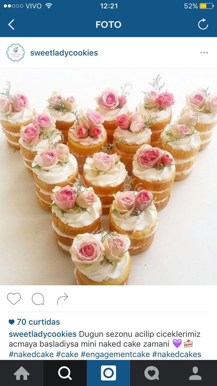 Kleine Torten, Kleiner Kuchen, Candy Bar Hochzeit, Mini Torten, Einfach  Lecker, Taufen, Polterabend, Kuchen Und Torten, 30 Geburtstag