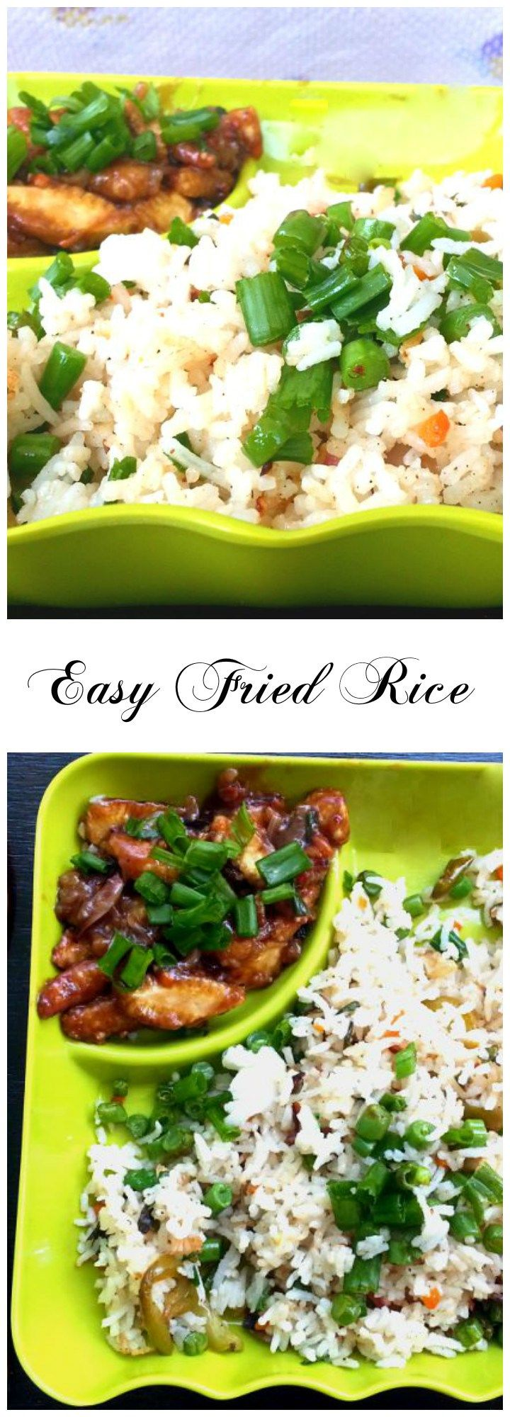 Best Fried Rice- Obviously fried rice tastes best when made at home. This best fried rice is also easy fried rice.