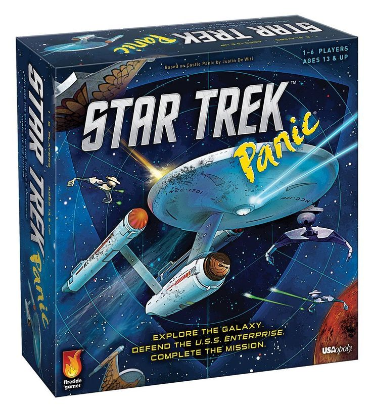 Amazon.com: Star Trek Panic Board Game: Toys & Games