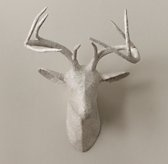 Papier-mache antlers (RH Baby, or West Elm)