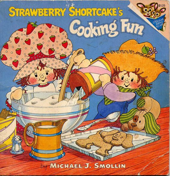 I had this and loved it! I wish I still had it for my daughter. Who knew Strawberry Shortcake would come back?