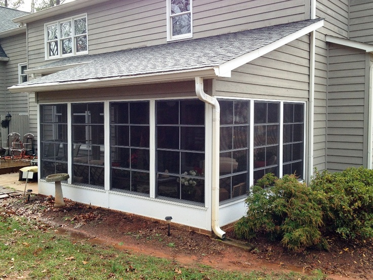 22 best sunroom three seasons porch images on pinterest for Enclosed porches and sunrooms